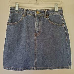 3for$25 forever 21 jean skirt